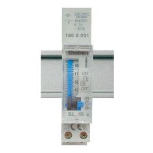 Interrupteurs horaire & interrupteurs crépusculaire -Horloge 24H avec réserve de marche 230V 45-60HZ 1NO 16A