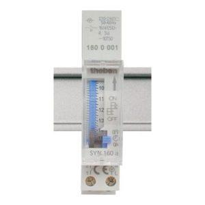 Interrupteurs horaire & interrupteurs crépusculaire -Horloge 24H sans réserve de marche 230V 50HZ 1NO 16A