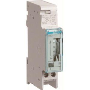 Interrupteurs horaire & interrupteurs crépusculaire -Interrupteur horaire 24h - 1 voie - A/Rés - 1 M.