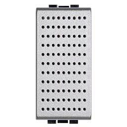 Plaques centrales -Ronfleur Light Tech - 12 V - 5 VA - 74 dB - 1 module