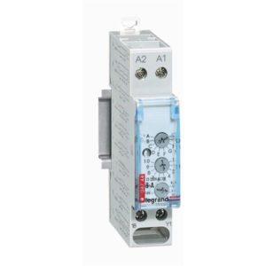 Relais temporisés & minuteries d'escalier -Relais temporisé 8 A - 250 V Multifonctions - 1 module