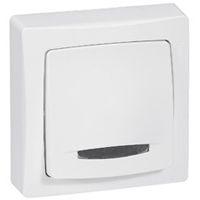 Interrupteurs et bouton-Oteo poussoir à voyant 6 A - 250 V - monobloc