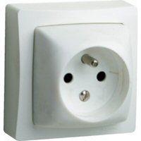 Prises -Oteo prise de courant 2 P + T 10/16 A - 250 V - monobloc
