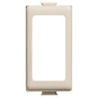 Plaques de recouvrement -Adaptateur Magic pour 1 module - couleur ivoire