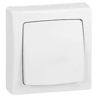 Interrupteurs et bouton-Oteo poussoir 6 A - 250 V - monobloc
