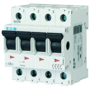 Interrupteurs modulaires -INTERR SECT MOD 40A 4P