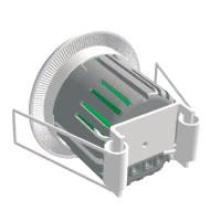 Plaques de recouvrement -Adaptateur cloison creuse éclairage de balisage Lipso