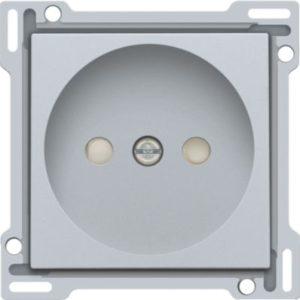 Plaques centrales -Enjoliveur simple pour prise de courant 2P, sterling