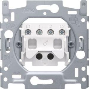 Interrupteurs et bouton-Socle interrupteur bipolaire 10A 250V AC