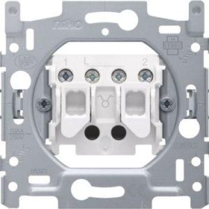 Interrupteurs et bouton-Socle interrupteur double allumage 10A 250V AC