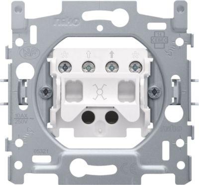 Interrupteurs et bouton-Socle interrupteur inverseur 10A 250V AC