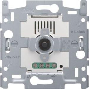 Variateurs -Socle variateur à bouton rotatif pour systèmes avec électrique de controle 1-10V