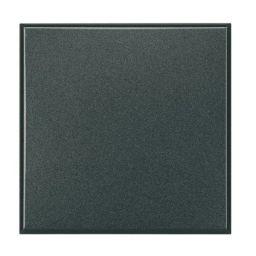 Plaques centrales -Obturateur Axolute - 2 modules - gris foncé