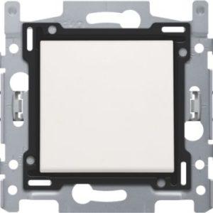 Interrupteurs et bouton-Interrupteur unipolaire 10A 250V AC, blanc