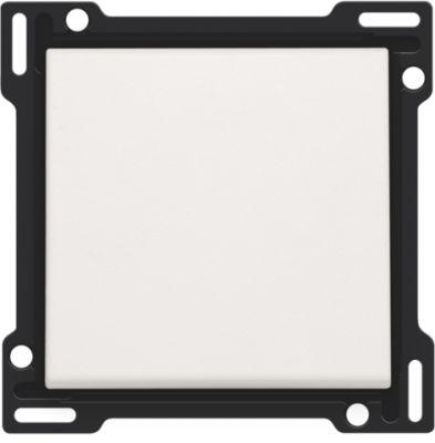 Plaques centrales -Manette pour bouton poussoir, blanc
