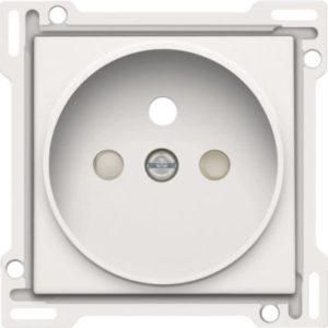 Plaques centrales -Enjoliveur simple pour prise de courant 2P+A
