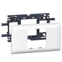 Plaques de recouvrement -Support Mosaic DLP 2 modules couvercle 65mm