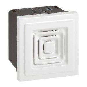 Plaques centrales -Mosaic ronfleur 12/24/48V 2 mod. Blanc