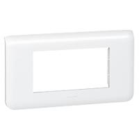 Plaques de recouvrement -Mosaic plaque hor. 4 mod. blanc