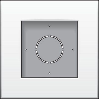 Boîtiers apparent -Boîte en saillie 1x G06 haut, blanc