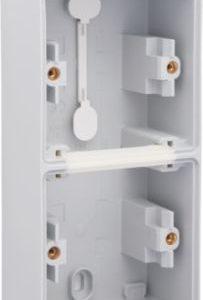 Boîtiers apparent -New Hydro boîtier en saillie vertical pour 2 fonctions avec 1x2 entrées M20
