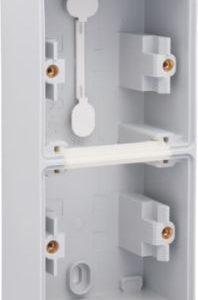 Boîtiers apparent -New Hydro boîtier en saillie vertical pour 2 fonctions, 1x2 entrées+1 entrée M2