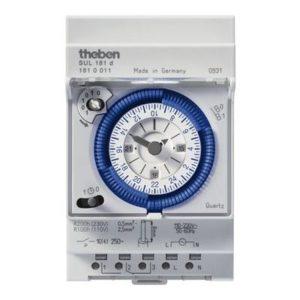 Interrupteurs horaire & interrupteurs crépusculaire -Horloge 24H avec réserve de marche 110-230V 45-60HZ 1CO 16A