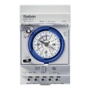 Interrupteurs horaire & interrupteurs crépusculaire -Horloge 24H sans réserve de marche 230V 50HZ 1CO 16A