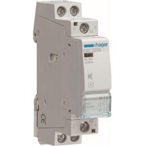 Contacteurs modulaires -Contacteur silencieux - 2x25A - 230V/220VDC - 2NO
