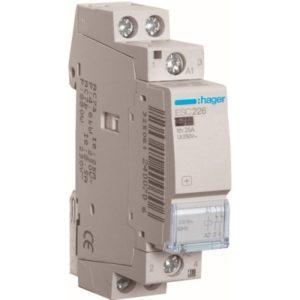 Contacteurs modulaires -Contacteur 25A-2P-230V-AUTO-2NG
