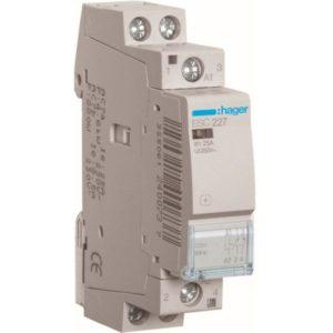 Contacteurs modulaires -Contacteur 25A-2P-230V-AUTO-1NO/1NG