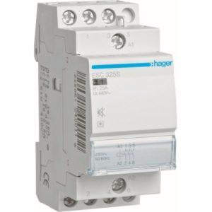 Contacteurs modulaires -Contacteur silencieux - 3x25A - 230V/220VDC - 3NO