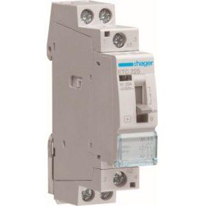 Contacteurs modulaires -Contacteur J/N - 2x25A - 230V - 2NO