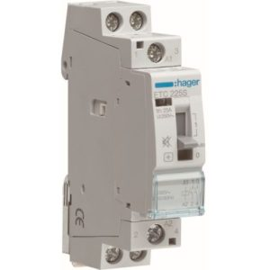 Contacteurs modulaires -Contacteur J/N silencieux - 2x25A - 230V/220VDC - 2NO