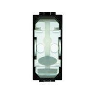 Interrupteurs et bouton-LivingLight - Interrupteur 2 directions 16AX 250V 1 mod. bornes auto s. touche