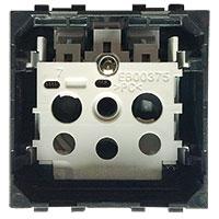 Prises -LivingLight - Prise 2P+T 16A 250V 2 modules bornes auto sans enjoliveur