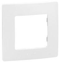 Plaques de recouvrement -Niloé plaque 1 poste blanc