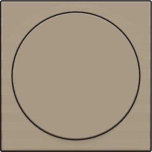 Plaques centrales -Plaque pour variateur à bouton rotatif universel, bronze
