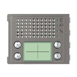 Plaques de recouvrement -Plaque frontale 351100 4 boutons Robur - Sfera New