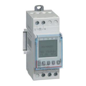 Interrupteurs horaire & interrupteurs crépusculaire -Int.hor hebdo. 1s 16A 230V 50/60Hz- 2 mod