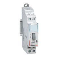 Télérupteurs -CX³ télérupteur - bipolaire -16A - 24V - 2 NO - 1 module - bornes à vis