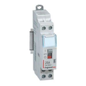Contacteurs modulaires -Contacteur 25A-2P-230V-MAN-2NO