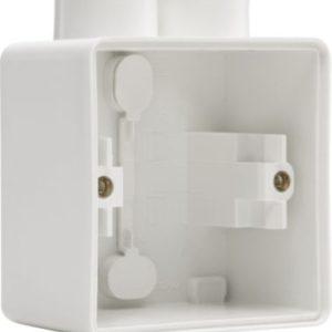 Boîtiers apparent -Hydro boîte simple 2 entrées - blanc