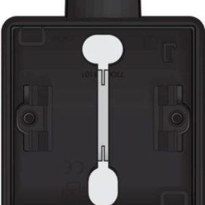 Boîtiers apparent -Hydro boîte simple 1 entrée - noir