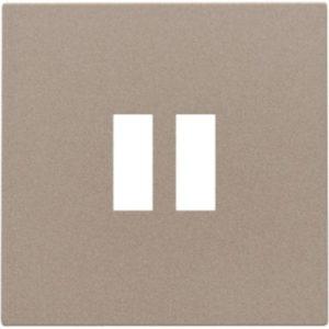 Plaques centrales -Enjoliveur pour chargeur USB, bronze