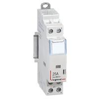 Contacteurs modulaires -Contacteur 25A-2P-230V-AUTO-2NO