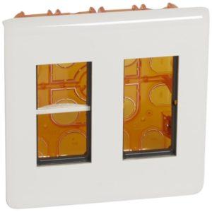 Plaques de recouvrement -Mosaic poste encastre 2x4 modules