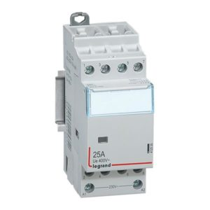 Contacteurs modulaires -Contacteur 25A-4P-230V-AUTO-4NO