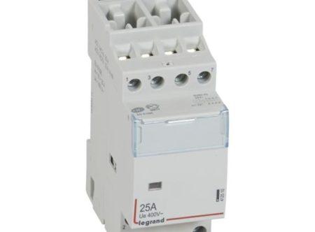 Contacteurs modulaires -Contacteur 25A-4P-24V-AUTO-4NO
