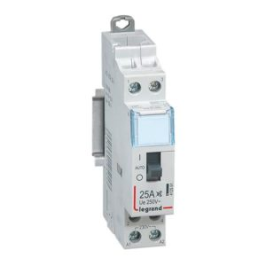 Contacteurs modulaires -Cont. heure creuse 2NO 25A 230V 1 module